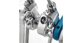 Dixon PP-PCPD1 Precision Coil Double Pedal Double Chain