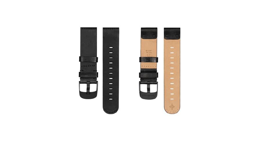 Soundbrenner Leather Strap Black