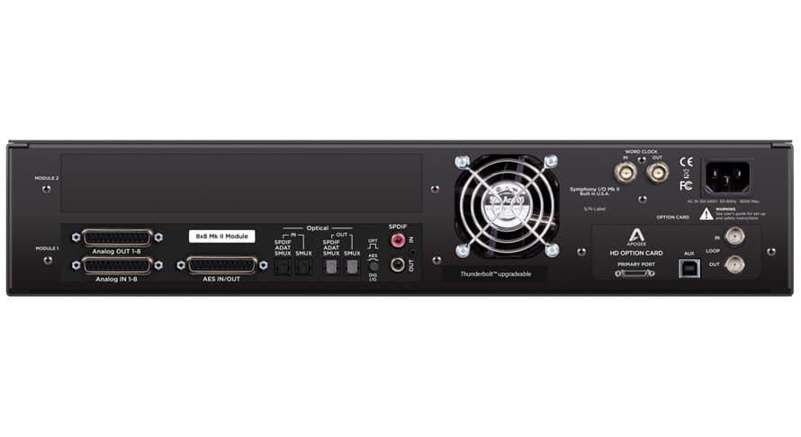 Apogee Symphony I/O Mk II 8X8 Pro Tools HD
