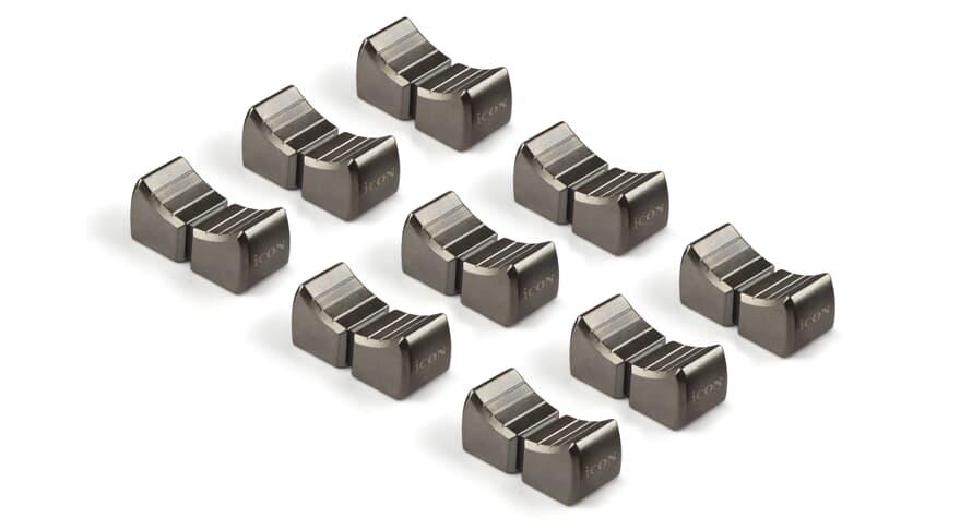 iCon Metal Fader Cap (Set of 9)