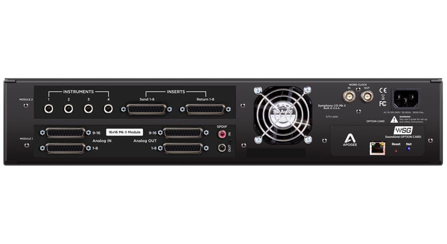 Apogee Symphony I/O Mk II 16X16+8MP SoundGrid