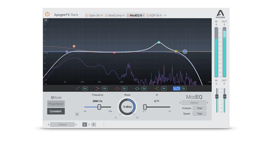 Apogee FX Plugin ModEQ 6