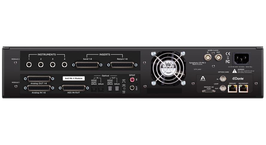 Apogee Symphony I/O Mk II 8X8+8MP Dante