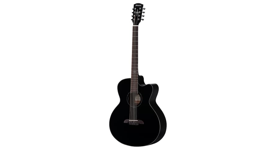 Alvarez ABT60CE-8BK Baritone 8-String