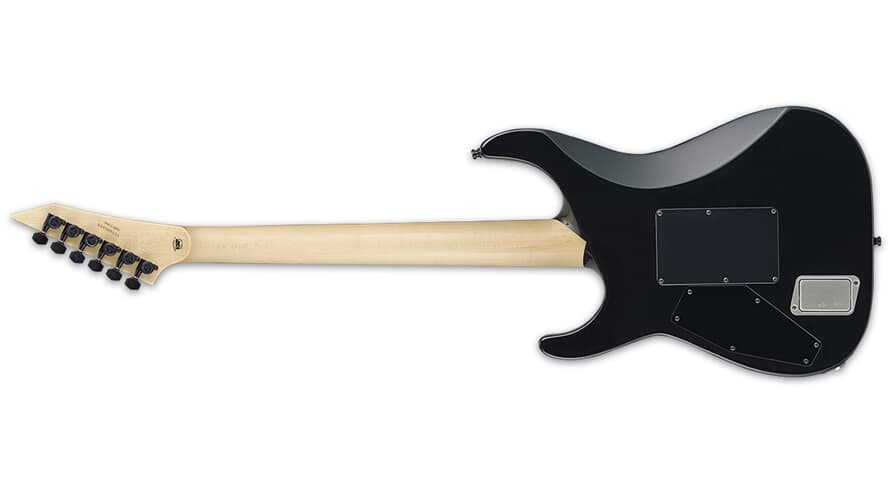 ESP E-II M-II NECK THRU BLK