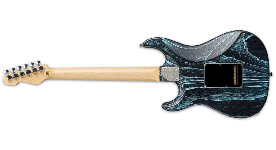 ESP SNAPPER CTM MAPLE DRIFT BLACK BLUE FILLER
