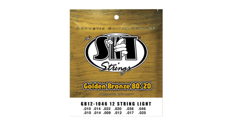 S.I.T. GB12-1046 Golden Bronze 12string