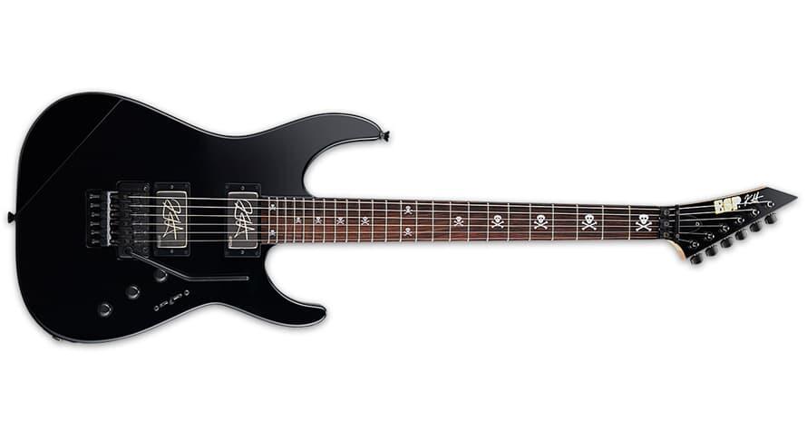 ESP KH-2 NECK THRU BODY BLACK