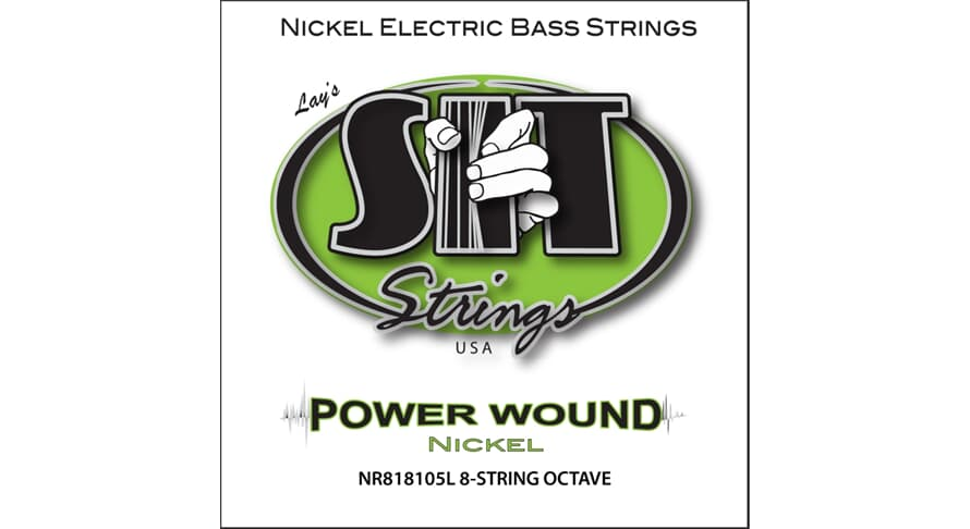 S.I.T. NR818105L Power Wound 8string