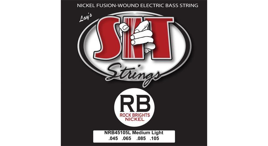 S.I.T. NRB45105L Rock Bright Medium Light Nickel