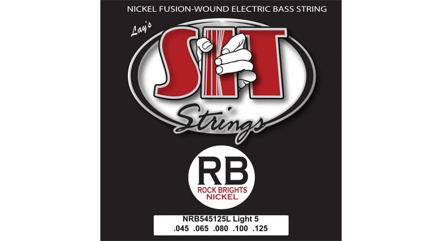 S.I.T. NRB545125L Rock Bright 5string Light Nickel