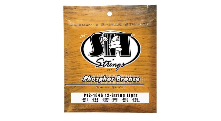 S.I.T. P12-1046 Phosphor Bronze 12string
