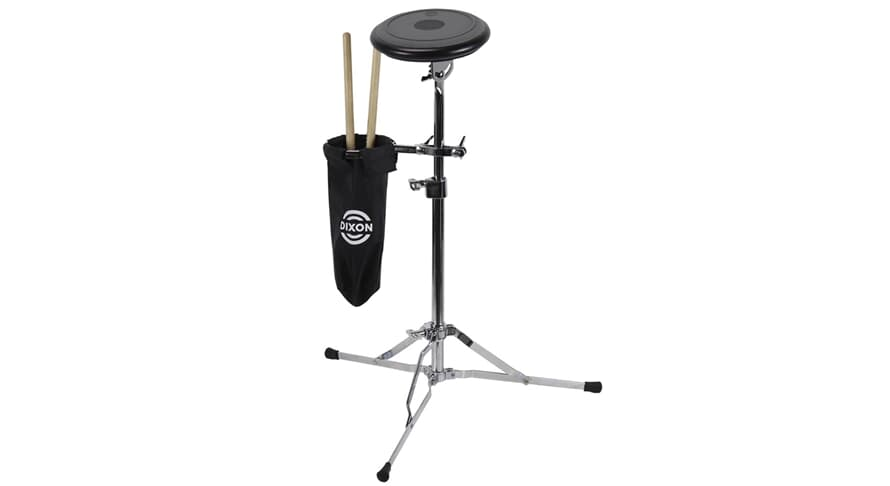 Dixon PDP-PSC Practice Pad w/ Stand and Sticks Holder