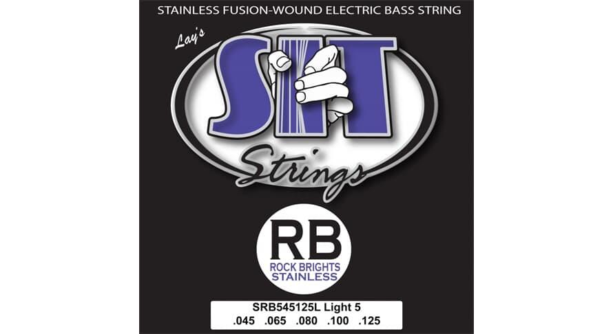 S.I.T. SRB545125L Rock Bright Stainless 5string Light