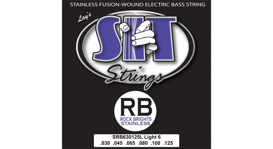 S.I.T. SRB630125L Rock Bright Stainless 6string