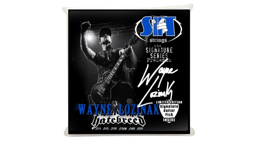 S.I.T. SS-S1158WL Wayne Lozinak Hatebreed
